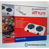 Cocina Eléctrica 2 Hornillas Hot Plate 2000w Espiral Nueva