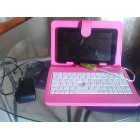 Tablet Tabla Android Wifi Utech Um 770 Con Forro Y Cargador