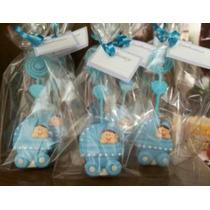 40 Lembrancinhas Bebê Em Biscuit Maternidade Nascimento