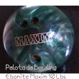 Pelota De Bowling Reactiva Usada Ebonite
