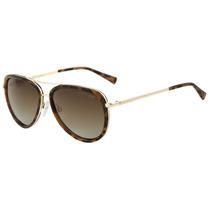 Atitude At 3164 - Óculos De Sol G01 Marrom Mesclado E