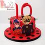 Torta, Cupcakes, Galletas Y Cakepops Lady Bug Todo X S/250