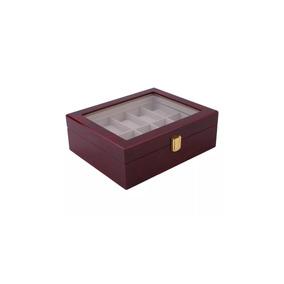 Estuche - Caja De Madera Para Guardar 10 Relojes