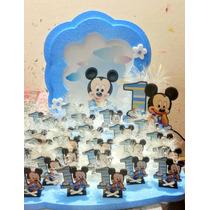 Mickey O Minie Bebe 1 Añito (25+central+maqueta)