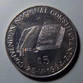 Argentina 5 Pesos 1994 Constitución Nacional Ex Cj 8.1.1