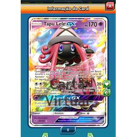 Pokemon Tcg Online - Tapu Lele Gx - Carta Virtual