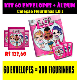 Figurinhas Lol 60 Envelopes + Álbum
