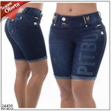 Promoção!!! Bermuda Ciclista Pit Bull Jeans Original - 24450