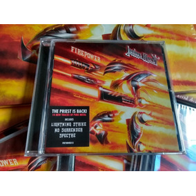 Judas Priest - Firepower Cd Import Usa 2018 En Stock