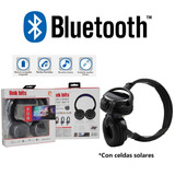 Audifonos Manos Libres Bluetooth Diadema Mp3 Solar Ab-016