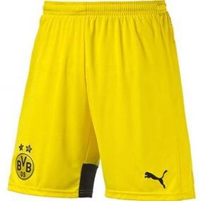 Shorts Calção Borussia Dortmund Oficial Puma 2018 Adulto