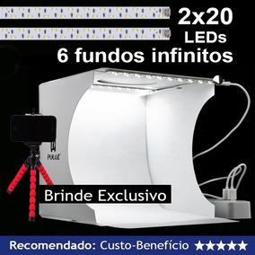 Photo Studio Box Original Poluz - 24cm X 23cm X 22cm 6 Cores