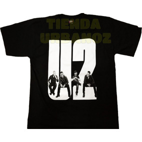 Camiseta Rock Metal U2 Estampada Tienda Urbanoz