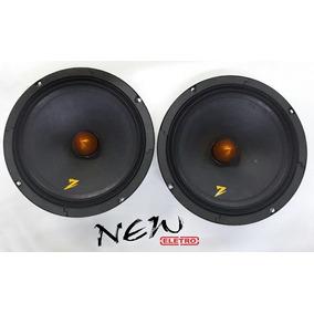 Par Auto Falante Zetta Audio 8 Pol 200rms (400rms Par)
