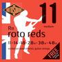 Rotosound R11 Roto Reds Encordado 011 Guitarra Electrica