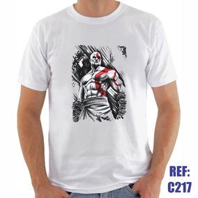 Camisa God Of War Video Game Pc Player Personalizada