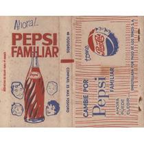 Publicidad Uruguay Pepsi Cola Familiar Caja Fosforos Vintage