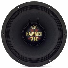 Alto Falante 15 Eros E-15 Hammer 7k.8 Woofer 3500w Rms 8 Ohm