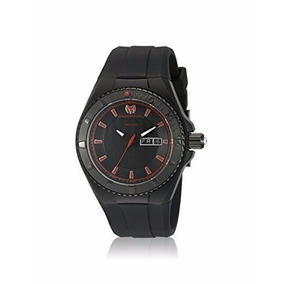 Reloj Technomarine Tm-115167 Poliuretano Color Negro Hombre