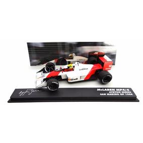 Lendas Brasileiras Ayrton Senna Mclaren Mp4/4 1/43 1988