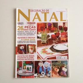 Revista Decoração De Natal Feltro Eva Mosaico Pintura N°13