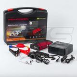 Partidor + Compresor + Power Bank Compacto Auto Camioneta