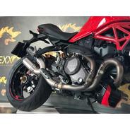 Escapamento Para Ducati Monster Duplo Bomber Mexx