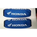 Cubre Amortiguador Modelo Honda Azul Gp Motos Pilar