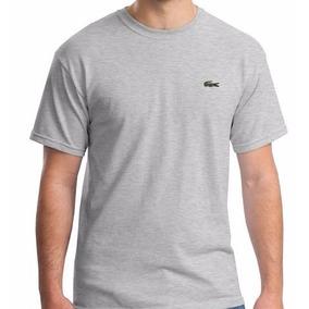 5 Camiseta Blusa Lacoste Tamanho P M G Gg 100% Live Algodão