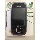 Nokia 7230 - Só Funciona Vivo, 3 Mp, Mp3, Bluetooth - Usado