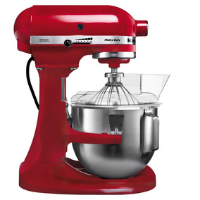 Batidora Kitchenaid Bowl Lift 4,8l Roja