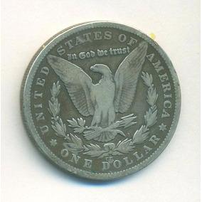 Moneda Morgan Dolar 1879 Cc Km#110 Plata