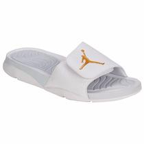 Sandalias (chancletas) Jordan Hydro 5 Blanco Para Hombres