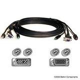 Cable Vga Monitor Ps/2 Ps2 Raton Teclado Kvm Multiplexor