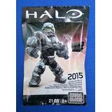 Silver Spartan Exclusivo Sdcc 2015 Mega Bloks Halo Legacyts