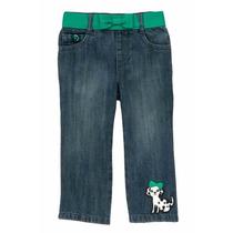 Pantalon Gymboree De Mezclilla Para Niña, 18-24 Meses