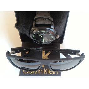 Kit Relógio Masculino + Óculos Escuro + Pulseira Dourada