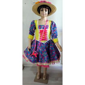 Vestido Junino Moça Bonita