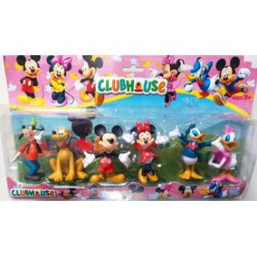Miniaturas Turma Do Mickey 1 Cartela - A Casa Do Mickey