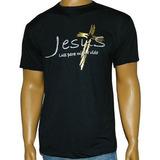 Camiseta Com Estampa Jesus Luz Para Minha Vida
