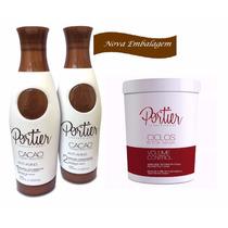 Escova Cacao Portier (emb. Nova) + Botox Ciclos Portier 1 Kg