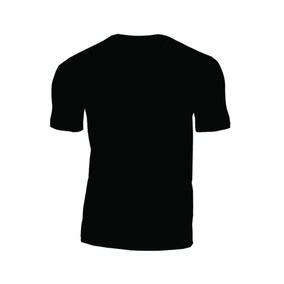 Camiseta Lisa Manga Curta Malha 100% Algodão Básica
