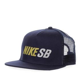 Gorra Nike Sb Reflect Trucker - 806014452 - Azul Marino - Un
