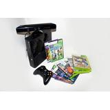 Xbox 4gb + Kinect + 8 Juegos Originales + Transformador