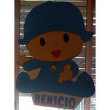 Piñata Infantil En Goma Eva Pocoyo Elefante Elly