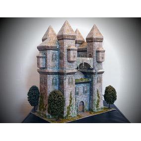 Maqueta Castillo Medieval (para Armar En Papel)