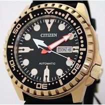 Relógio Citizen Aqualand Automático Nh8383-17e Japan Movemen