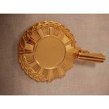 Medallas Bachiller Preescolar Sexto Cruz Malta Baño Oro