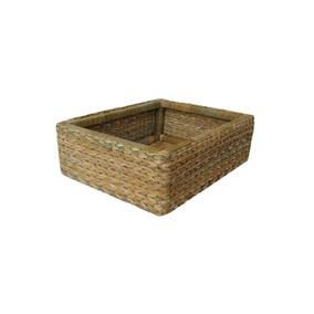 Bolsa Cesto Bandeja Taboa Natural 30x20x10