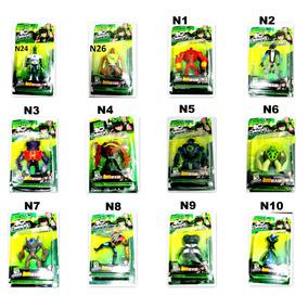 Coleção Ben 10 Boneco Ominiverse Ben10 Kit Com 20 Aleatorios